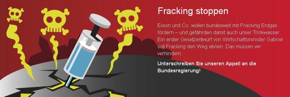Fracking stoppen