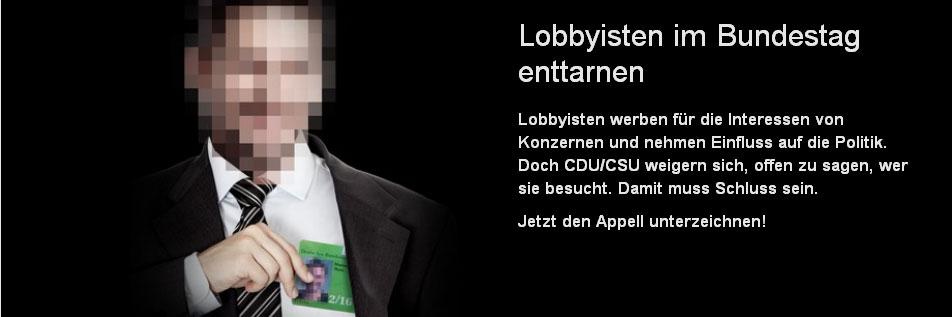 Stoppt Lobbyisten